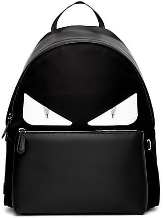 Fendi Black and White Bag Bugs Backpack 2e8106a170ac3