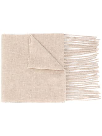 Acne Studios Canada Skinny fringed scarf - Neutro