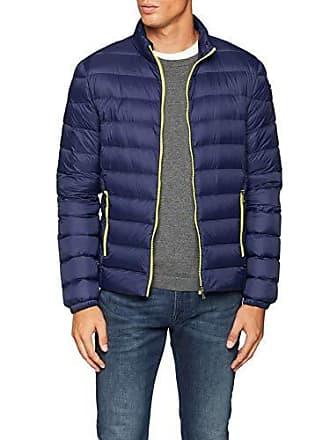 a086c6f0a5 Trussardi Jacket Slim FIT Nylon Ultra Light Manteau imperméable Homme, Blu  (Blue Navy U290