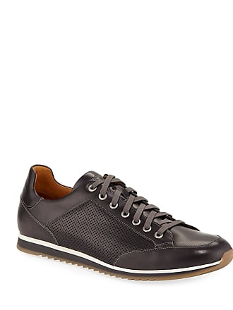 Magnanni Mens Buterlight Lace-Up Leather Sneakers
