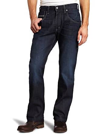 209e2a72c9a Levi's Mens 569 Loose Straight Back Off Seam Jean, Wet Sand Blue, 40x32. In  high demand