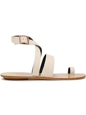 a17c4a8fc3f2 Tibi Tibi Woman Hallie Leather Sandals White Size 35