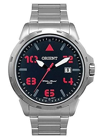 Orient Relógio Masculino Orient Analógico MBSS1195A P2SX - Prata