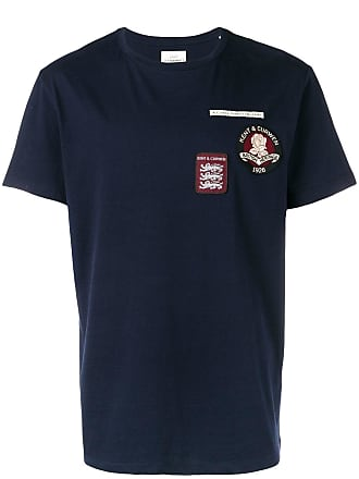 Kent & Curwen Camiseta com estampa de logo - Azul