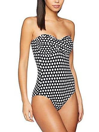 b848926e42a399 Esprit Damen Crosby Beach Swimsuit Badeanzug, Schwarz (Black 001),  (Herstellergröße: