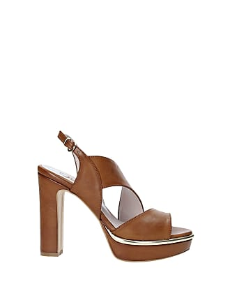 bc45f20118 Brown Heeled Sandals: 273 Products & up to −70% | Stylight