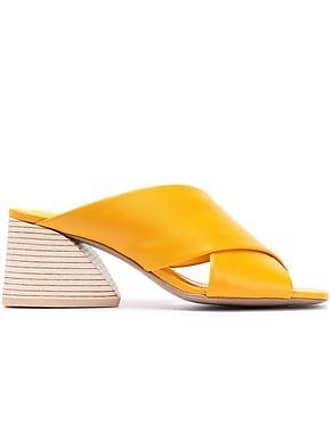 9cae3651aa8 Mercedes Castillo Mercedes Castillo Woman Lenilow Leather Mules Marigold  Size 9.5