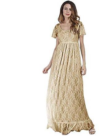 97f3d1e102cc74 Amlaiworld Vintage Luxuriös Spitze cocktailkleid Damen Frühling Sommer  Strickkleid Mode lang Kleid elegant künstlerische Fotos Abendkleider
