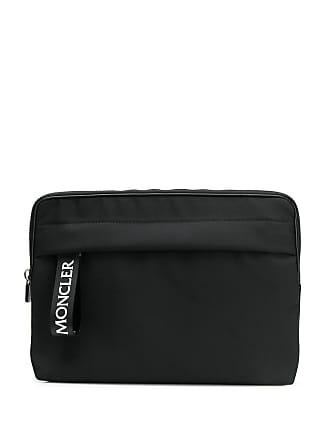Moncler Capa para notebook com patch com logo - Preto