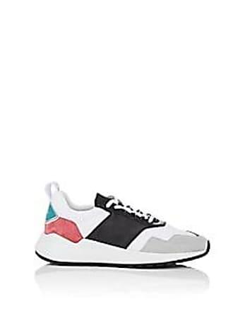 Buscemi Mens Ventura Neoprene & Leather Sneakers - White Size 10 M