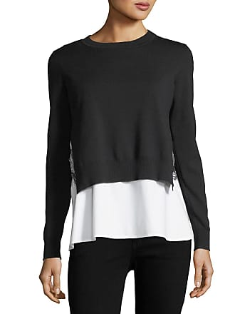 Kobi Halperin Adela Layered Sweater & Shirting Combo Top