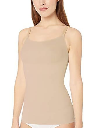 Maidenform Womens Cover Your Bases SmoothTec Shaping Camisole, Transparent, X Large