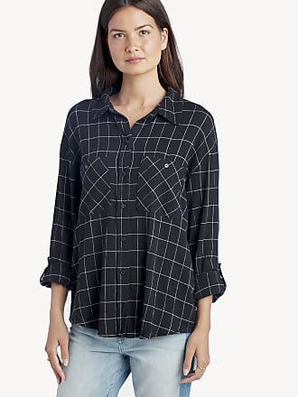 e9b70af2a19 Sanctuary Womens Steady Boyfriend Shirt In Color  Window Pane Size Large  From Sole Society
