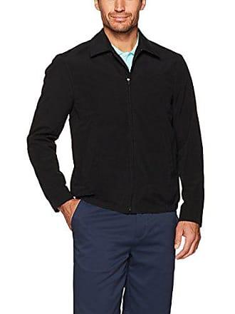Amazon Essentials Mens Water-Resistant Golf Jacket, Black, Medium