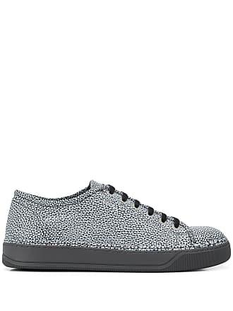 Lanvin metallic low top sneakers - Black