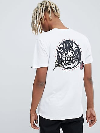 b58395bfce Vans t-shirt with back print in white VN0A3HR6WHT1