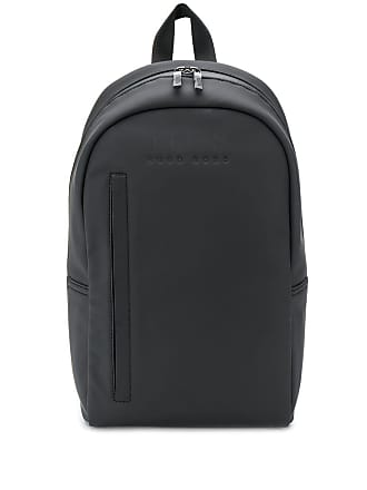 52f82d38fb6 HUGO BOSS perforated logo backpack - Black