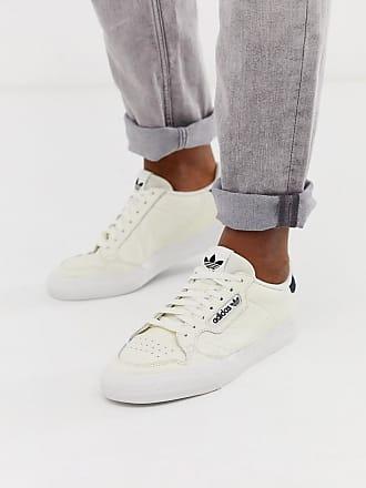 adidas Originals Continental 80 Vulc - Leder-Sneaker in gebrochenem Weiß