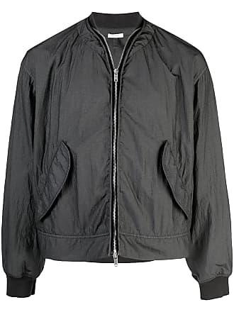 Jil Sander zipped bomber jacket - Dark Grey
