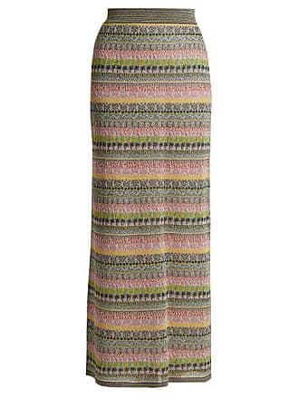 5d2e9ac85f8 Missoni Striped Metallic Maxi Skirt - Womens - Multi