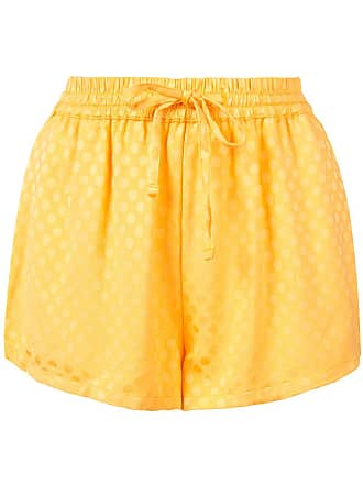 Onia silky dots Aleen shorts - Orange