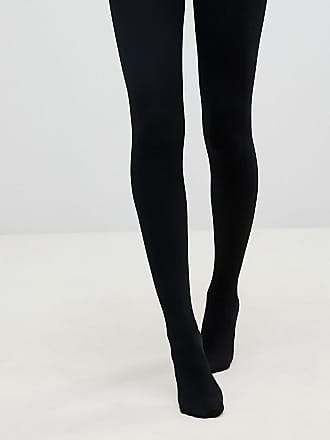 3660b760aea Pretty Polly 200 Denier Fleecy opaque tights in black