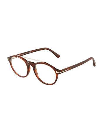 Tom Ford Round Tortoiseshell Acetate Optical Glasses