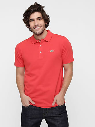 c4f224cd37482 Camisas Pólo Masculino em Vermelho − Compre com até −64%   Stylight