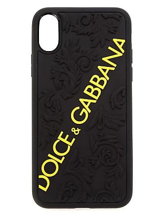 d1a29dbf69ea Dolce   Gabbana lettering logo iPhone X case - Black