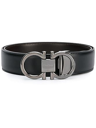 Salvatore Ferragamo Gancini belt - Black