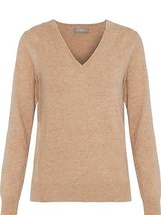 N.Peal N.peal Woman Cashmere Sweater Sand Size XL