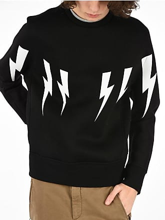 Neil Barrett Thunder Printed Sweatshirt size Xl