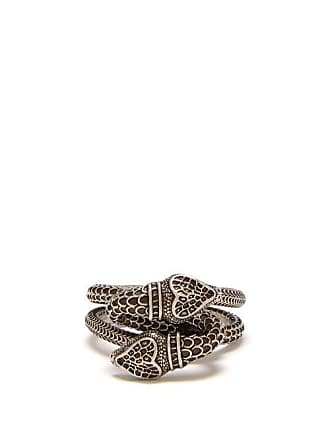 169c8ee56 Gucci Snake Sterling Silver Ring - Mens - Silver