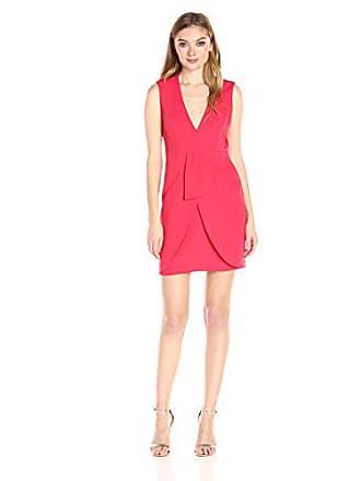 2c8afeec Bcbgmaxazria BCBGMax Azria Womens Clare Woven Evening Dress, Red Berry 8