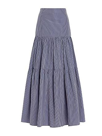 11766bc3de6ff5 Alexis Laurel Tier High Waist Maxi Skirt Stripes