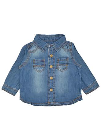 Tip Top Camisa Tip Top Jeans Bebê Azul