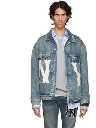 114170b9e8e Gucci Blue NY Yankees Edition Patch Denim Jacket