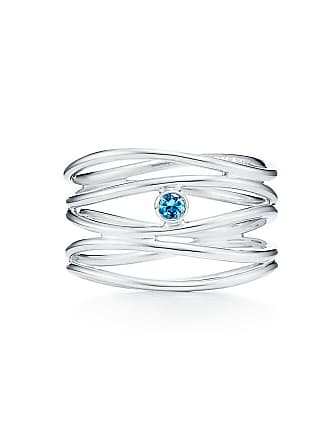 05b61437f4 Tiffany & Co. Elsa Peretti Wave five-row ring in sterling silver with an