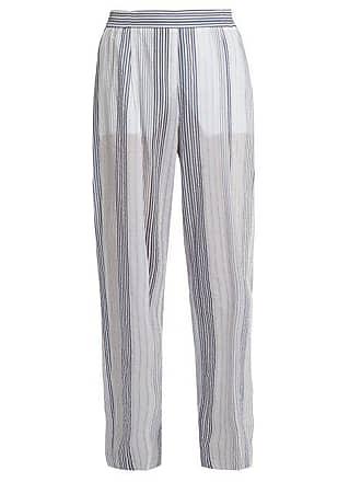 254a65511f4 Stella McCartney Stella Mccartney - High Rise Wide Leg Striped Trousers -  Womens - White Multi