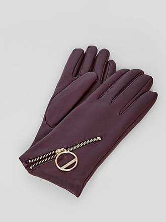 48ded889ab563a Liebeskind Handschuhe aus Glattleder und mit Zipper