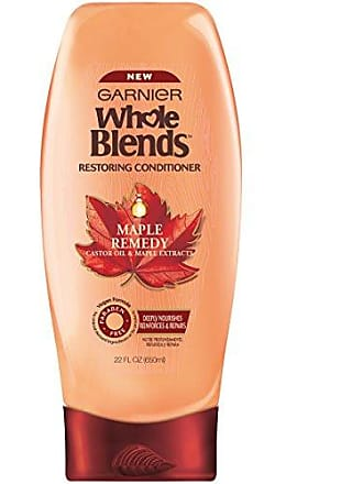 Garnier Whole Blends Restoring Conditioner Maple Remedy, For Dry, Damaged Hair, 22 fl. oz