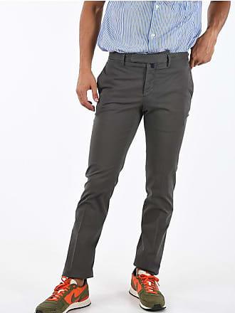 Incotex Mid-rise waist single pleat pants size 46
