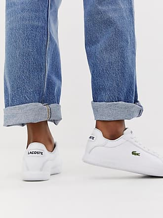 1a20f6a55 Lacoste Graduate BL1 leather trainers in white
