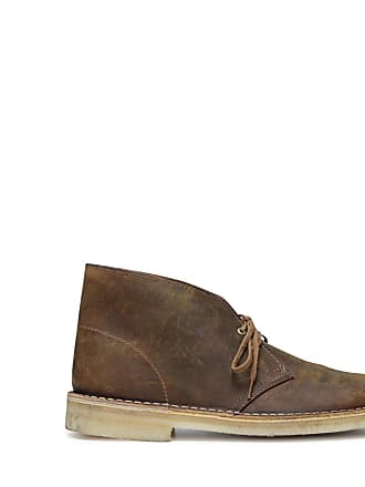 475ccf688 Clarks Cognacfarbene Desert Boots aus Leder (40