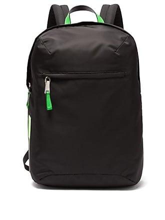 d5176fef67ee Prada Neon Trimmed Nylon Backpack - Mens - Black Green