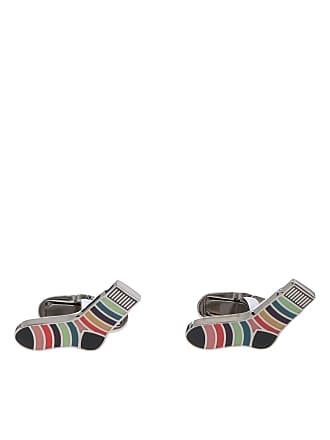 Paul Smith Multicolor striped cufflinks
