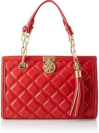 5e9ed70aca Guess Sandy, Cabas femme, Rouge (Red/Red), 35x23.5x14