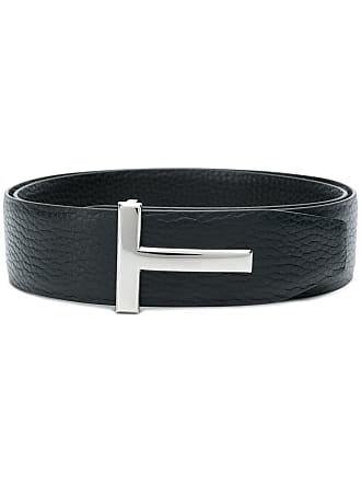 Tom Ford T buckle belt - Blue