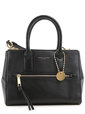 Marc Jacobs Top Handle Handbag, Black, Leather, 2017, one size