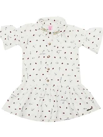 4f782e6c19 Lilica Ripilica Vestido Lilica Ripilica Bebê Menina Off White